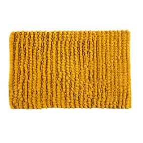 Bobble Mustard Bath Mat