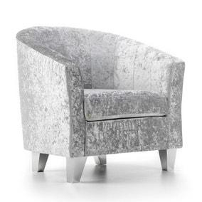 Starlet Tub Chair - Silver