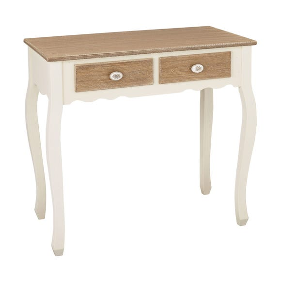 Jule Console Table With Drawers White