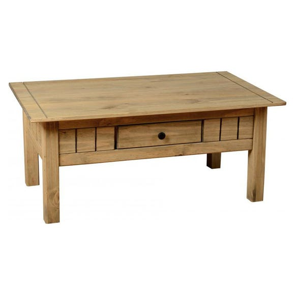 Panama Coffee Table Pine (Brown)