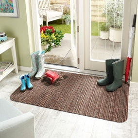 Marvel Stripe Washable Doormat