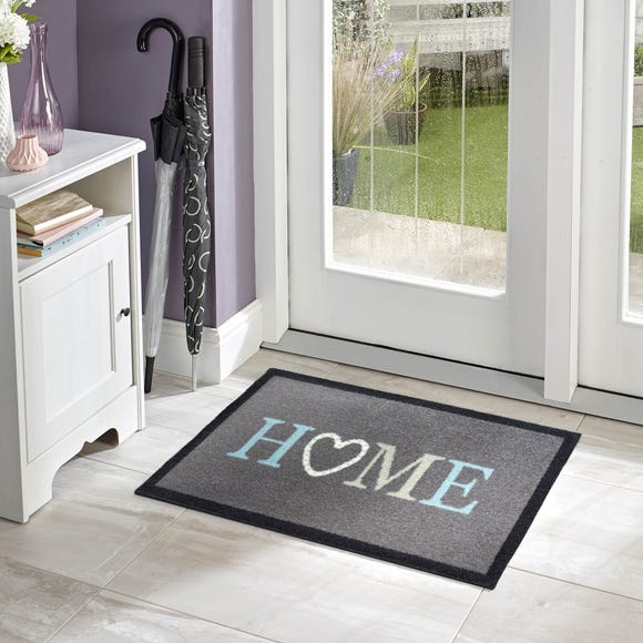 Marvel Home Washable Doormat Grey undefined