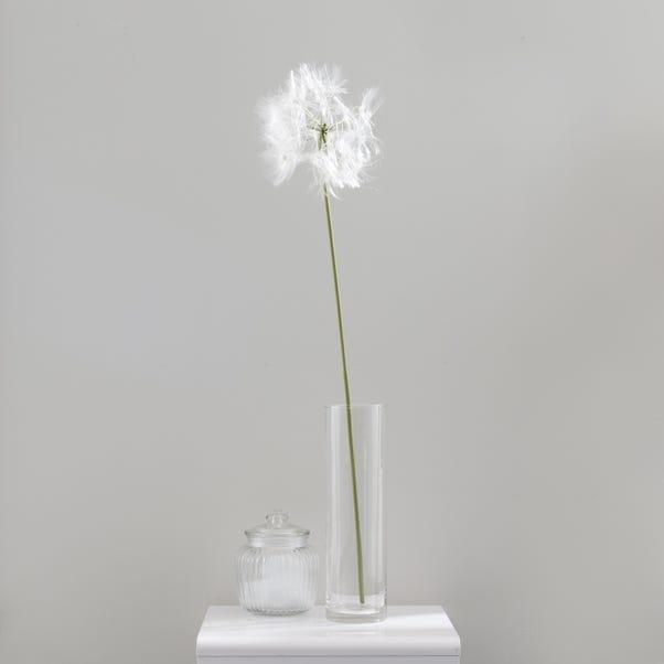 Artificial Dandelion Single Stem 106cm Cream