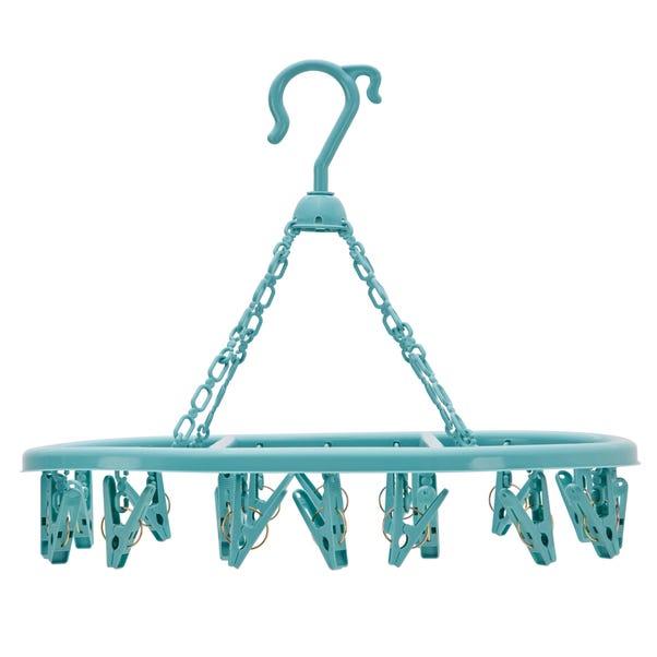 Candy Rose Teal Peg Hanger Teal (Blue)