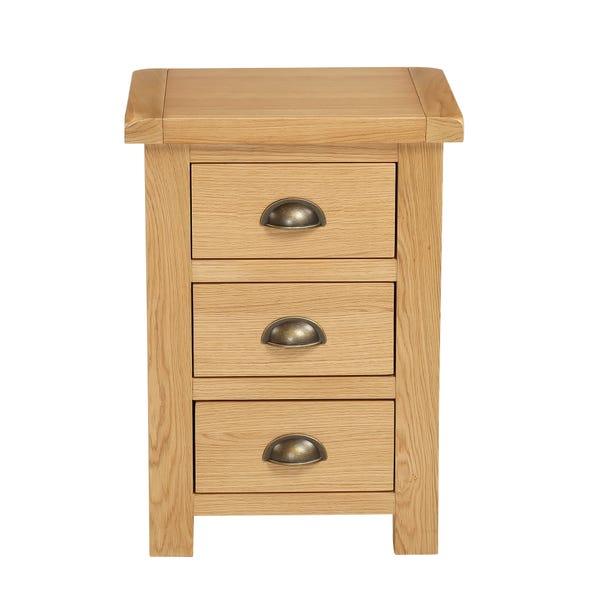 Sherbourne Oak Bedside Table Natural