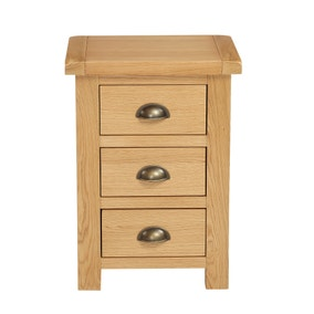 Sherbourne Oak Bedside Table