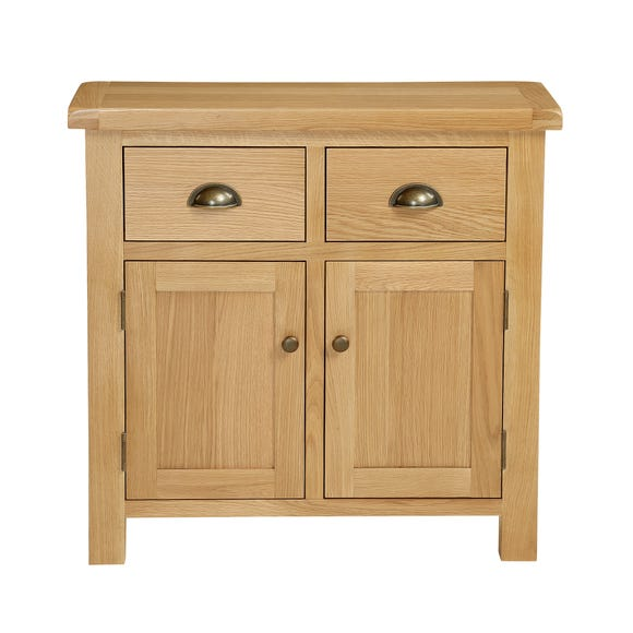 Sherbourne Oak Mini Sideboard Natural