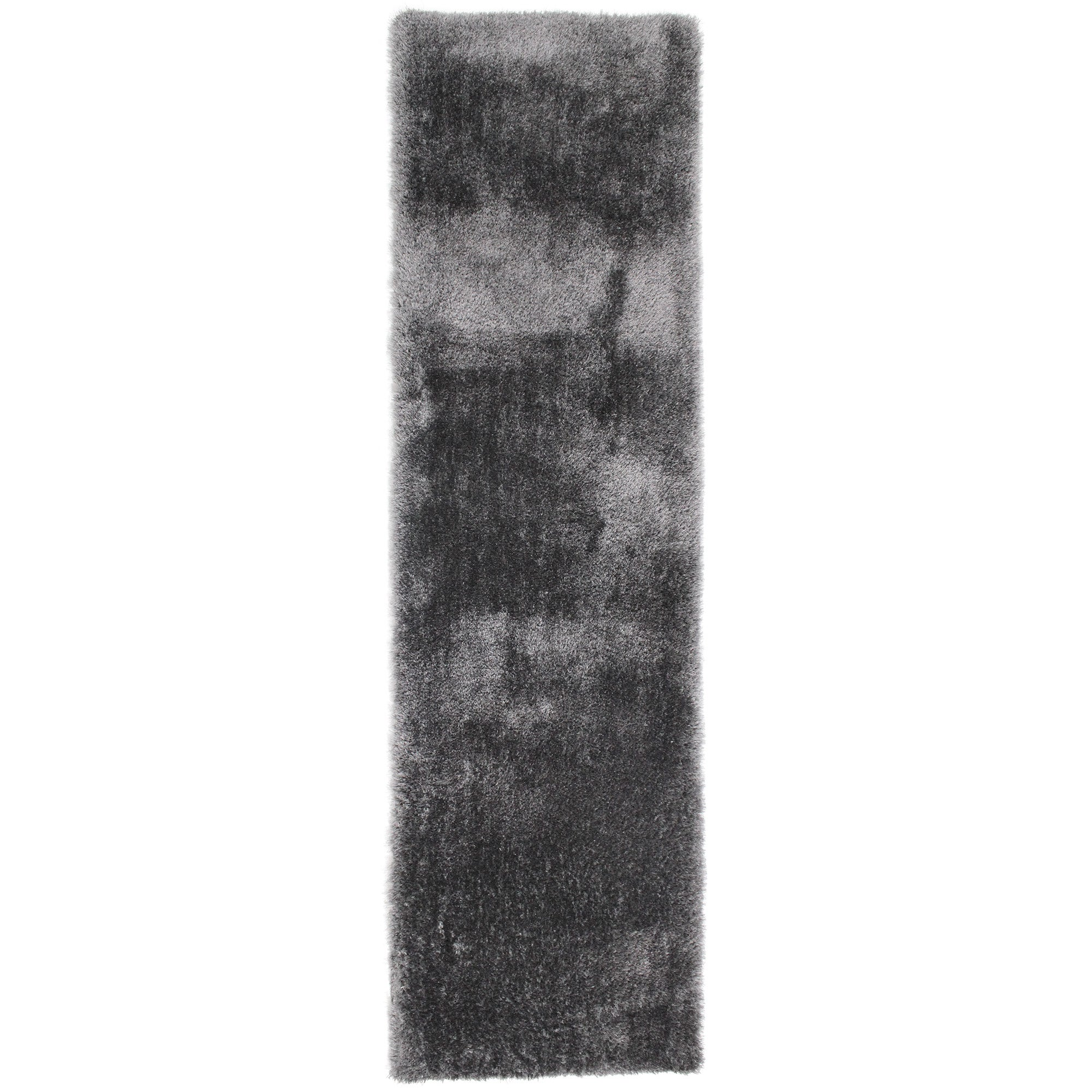 Click to view product details and reviews for Indulgence Shaggy Runner Charcoal Grey.