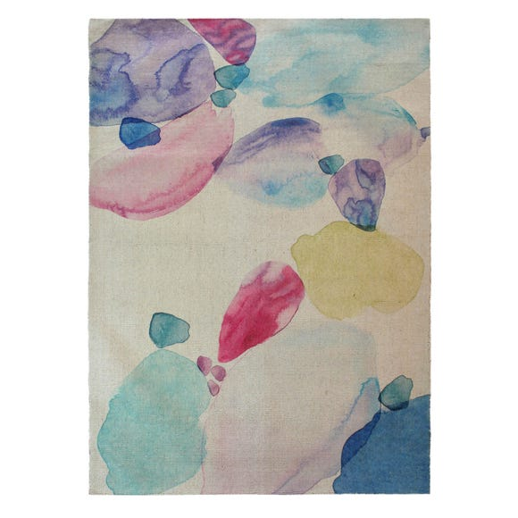 Natural Watercolour Rug  undefined