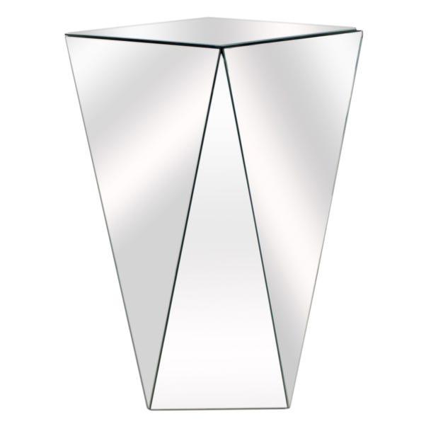 Mia Side Table Silver