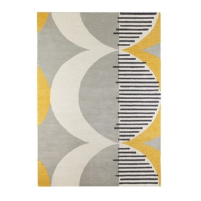 Elements Ochre Shield Wool Rug