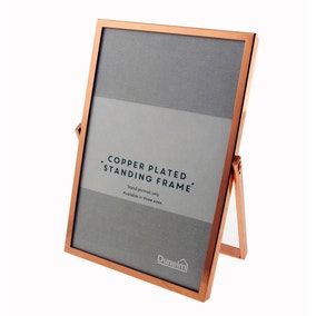 "Copper Standing Photo Frame 6"" x 4"" (15cm x 10cm)"