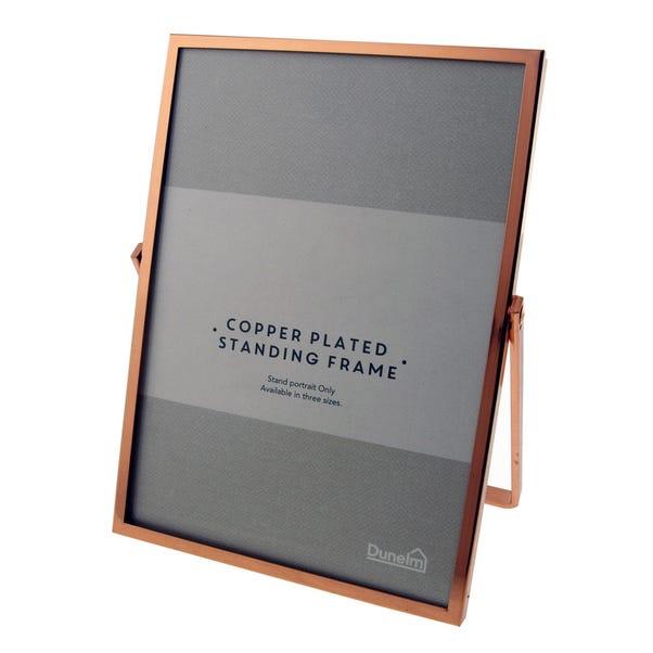 "Copper Standing Photo Frame 7"" x 5"" (18cm x 12cm) Copper"