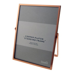 "Copper Standing Photo Frame 7"" x 5"" (18cm x 12cm)"