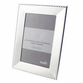 "Silver Stud Edge Photo Frame 6"" x 4"" (15cm x 10cm)"
