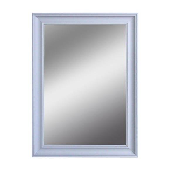 Impressionist Over Mantle Mirror Grey
