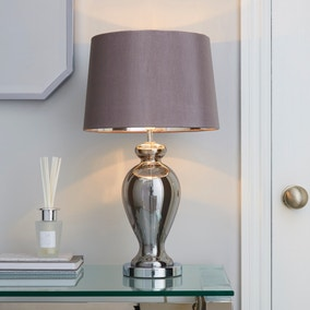 Sinton Urn Chrome Table Lamp