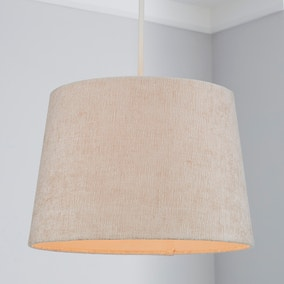 Mons Chenille 31cm Tapered Natural Shade
