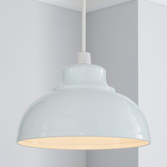 Galley Gloss White Easy Fit Pendant White