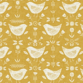 Folk Bird Ochre PVC