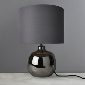 Fulda Chrome Table Lamp