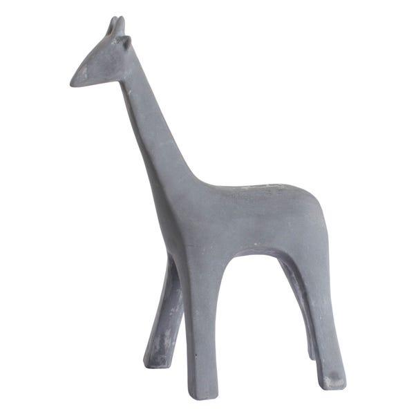 Grey Resin Giraffe Grey