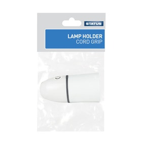 Status Cord Grip White Lamp Holder