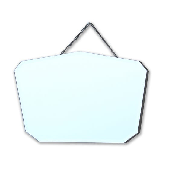 Wall Hanging Mirror Silver