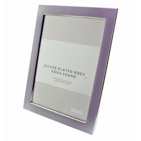"Grey Edge Photo Frame 7"" x 5"" (18cm x 12cm)"