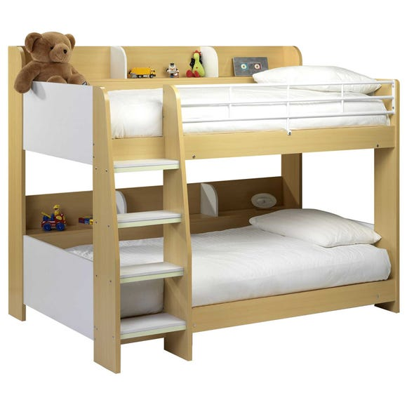Domino Maple Bunk Bed Natural