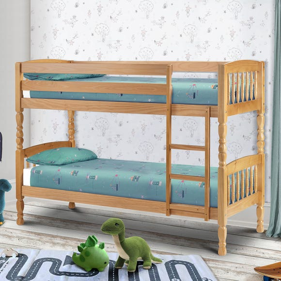 Lincoln Pine Bunk Bed Natural undefined