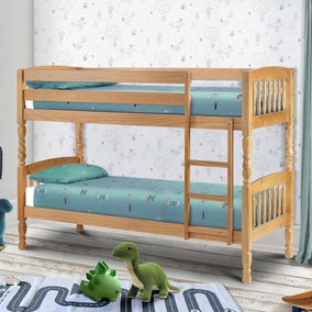 Lincoln Pine Bunk Bed - Small Single