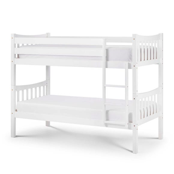 Zodiac White Bunk Bed White