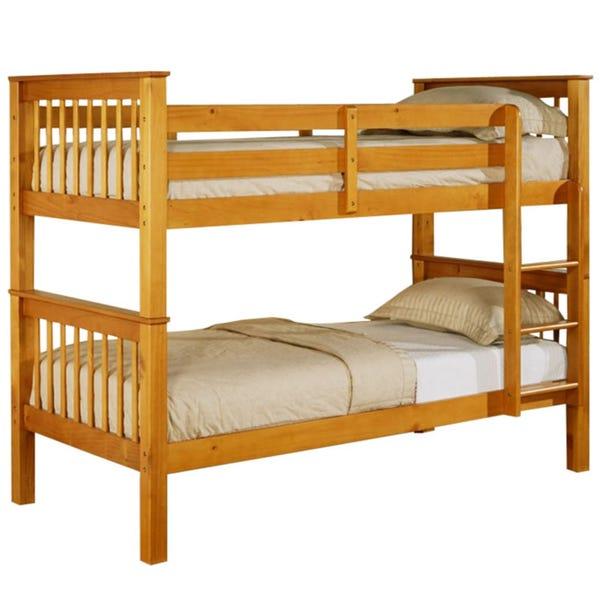 Devon Pine Bunk Bed Natural undefined