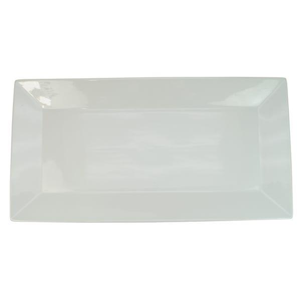 Medium White Porcelain Platter White