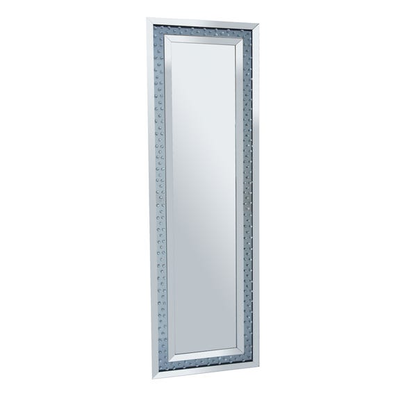Bling Cheval Mirror Silver