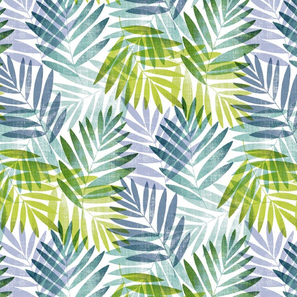 Voyager Green Leaf PVC Fabric Green
