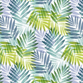 Voyager Green Leaf PVC Fabric
