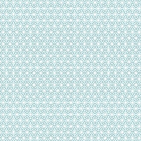 Diamond Teal PVC Fabric