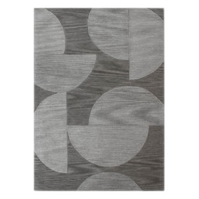 5A Fifth Avenue Grey Half Moons Rug