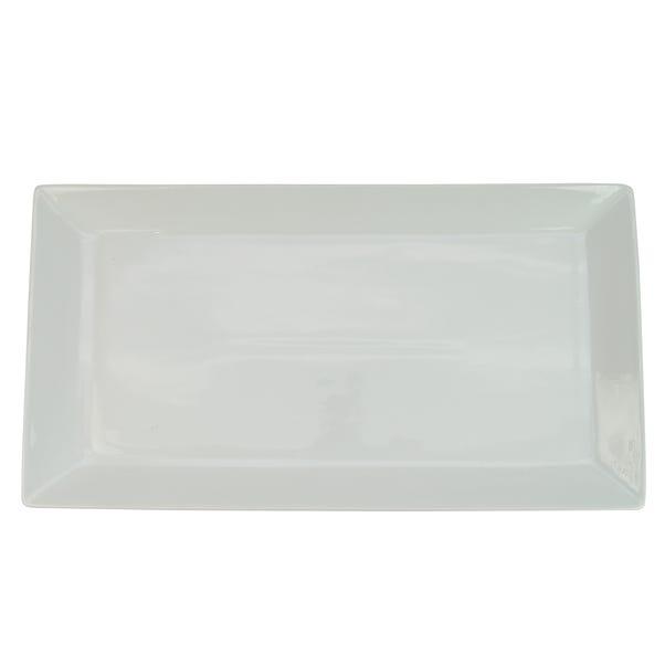 Large White Porcelain Platter White