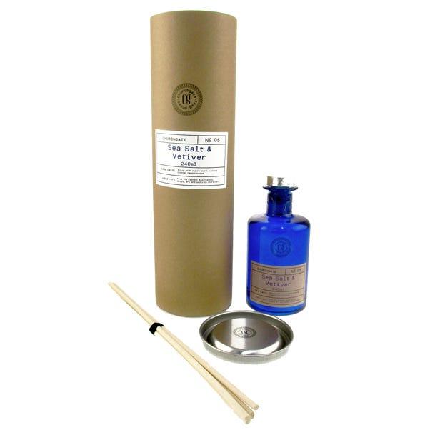 Churchgate Sea Salt 240ml Reed Diffuser Blue