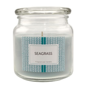 Seagrass Jar Candle