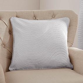 5A Fifth Avenue Fulton Grey Chenille Cushion