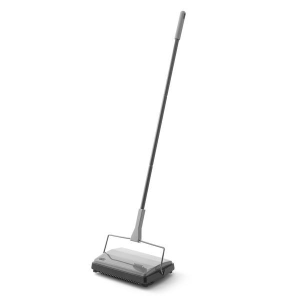 Addis Metallic Traditional Sweeper Grey