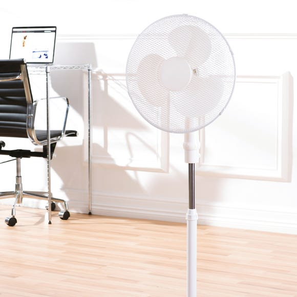 White 3 in 1 Adjustable 16 Inch Fan White