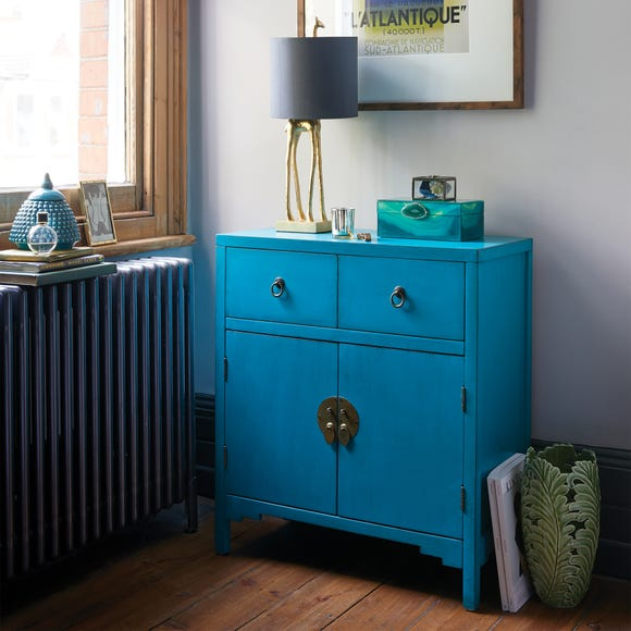Hanna Teal Chest Teal (Blue)