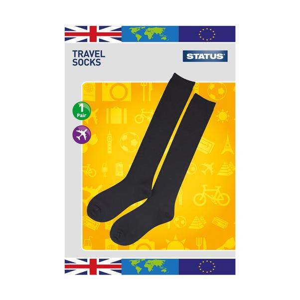 Anti DVT Travel Socks Black