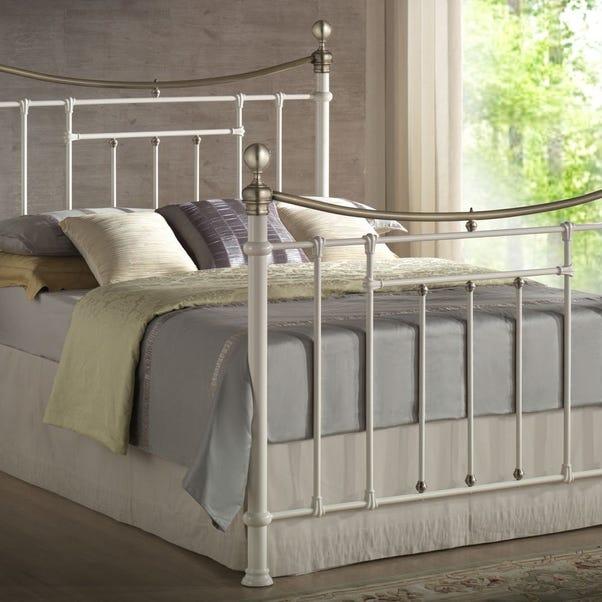 Bronte Bed Frame Cream (Natural) undefined