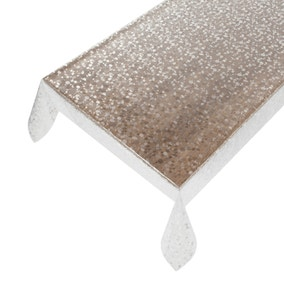 Clear Pebble PVC Fabric